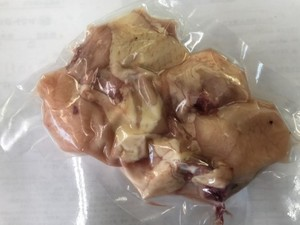 《鍋セット追加・鴨南蛮・鉄板焼・すき焼に最適》  はかた一番どり骨付きぶつ300g