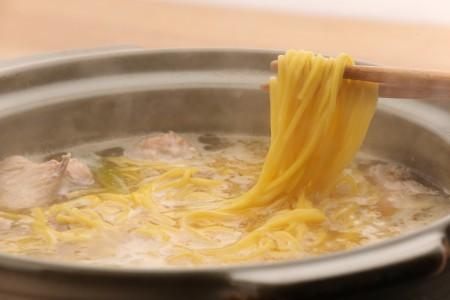 【鳥藤の鍋×とりそば】水たき中華2人前セット