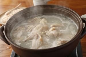 【鳥藤の鍋×とりそば】鳥藤の水たき・煮込み麺付き【ギフト包装も可】
